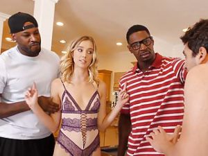 Haley Reed Interracial Threesome – Cuckold Sessions
