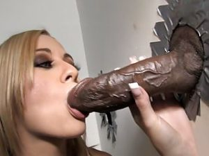 Mae Meyers Takes BBC – Gloryhole