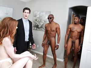 Pepper Hart Interracial Anal Gangbang – Cuckold Sessions
