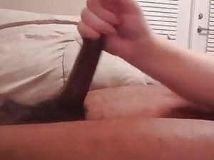 HUNG BLACK HANDJOB PT 2