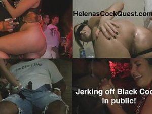 Helenas BBC Quest Public Interracial Sucking And Fucking!