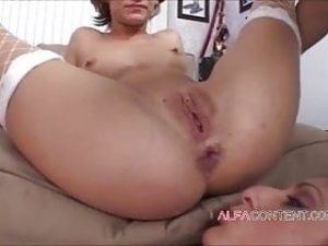 Two MILF sluts get their asses demolished in wild foursome
