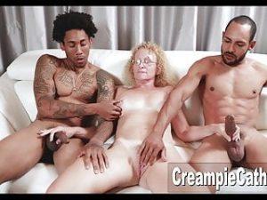 MILF Gets Massive BBC Creampie