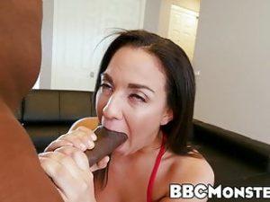 Monstrous black cock ass drilling little cutie Amara Romani