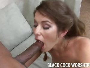 His big black monster cock gets me so wet