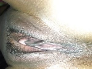 Unaware girlfriend s pussy spied during bj